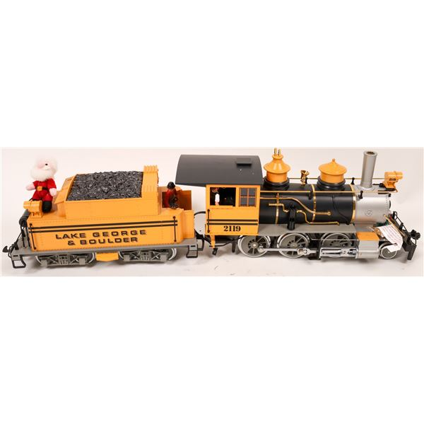 LGB G Scale Lake George and Boulder Steam Loco and Tender  [137993]