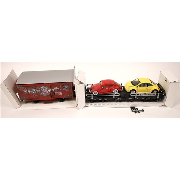 S Scale LGB Rolling Stock  [138002]