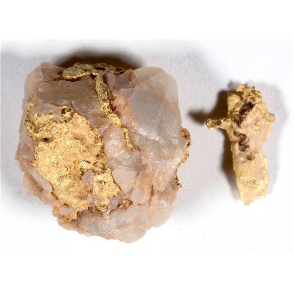 Gold and Quartz Specimens  [136192]