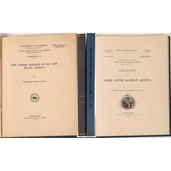 Arizona Copper Mine Publications (2)  [139425]