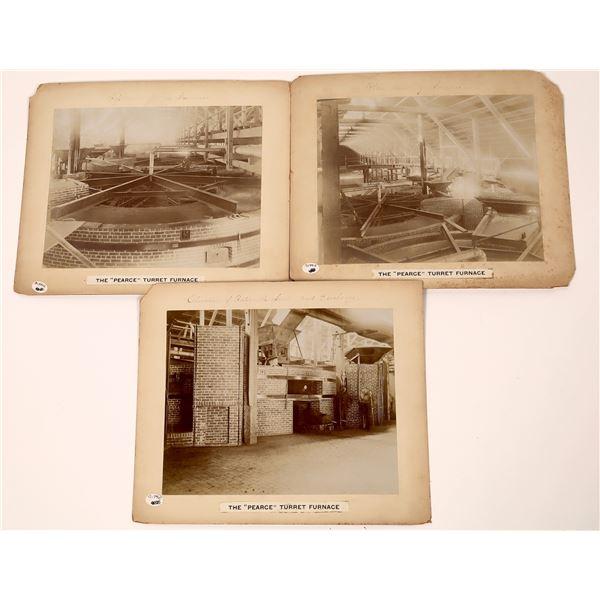 Pearce Turret Furnace Photographs  [139325]