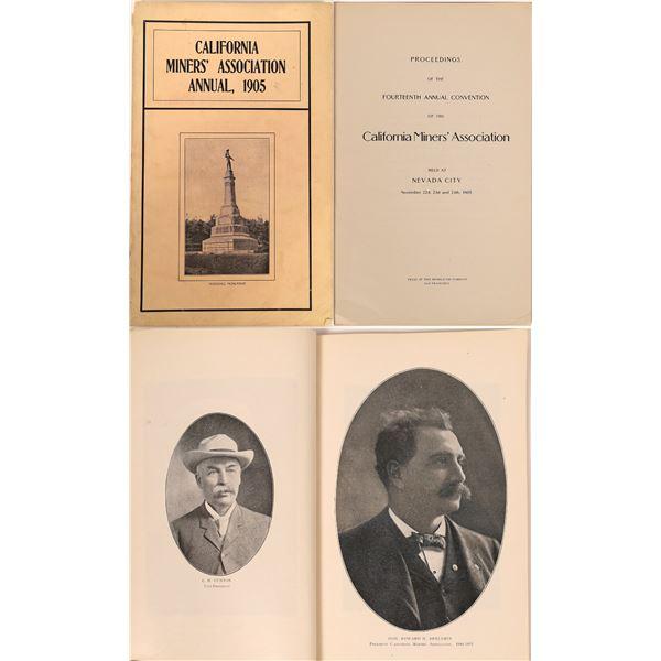 California Miners' Association Annual, 1905  [139689]