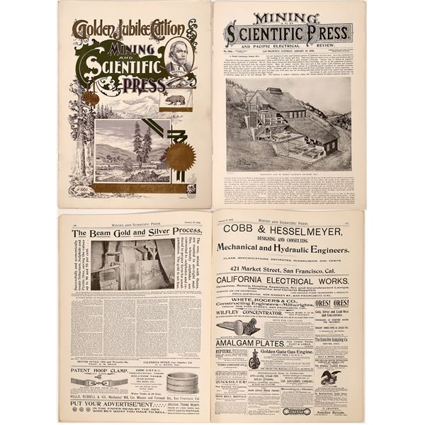 Golden Jubilee Edition - Mining and Scientific Press Journal  [139675]