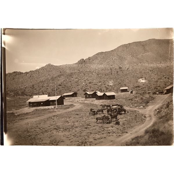 Southern California Mining Camp Photo  [140035]