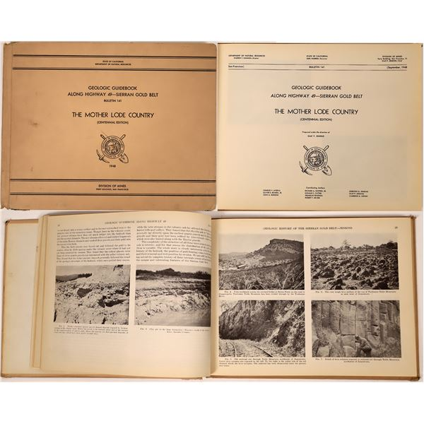 Geologic Guidebook Along Highway 49--Sierra Gold Belt: The Mother Lode Country  [138511]