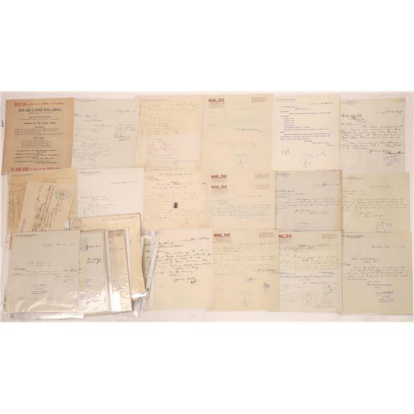 Basin Mining Letterheads (Approx 100)  [140430]
