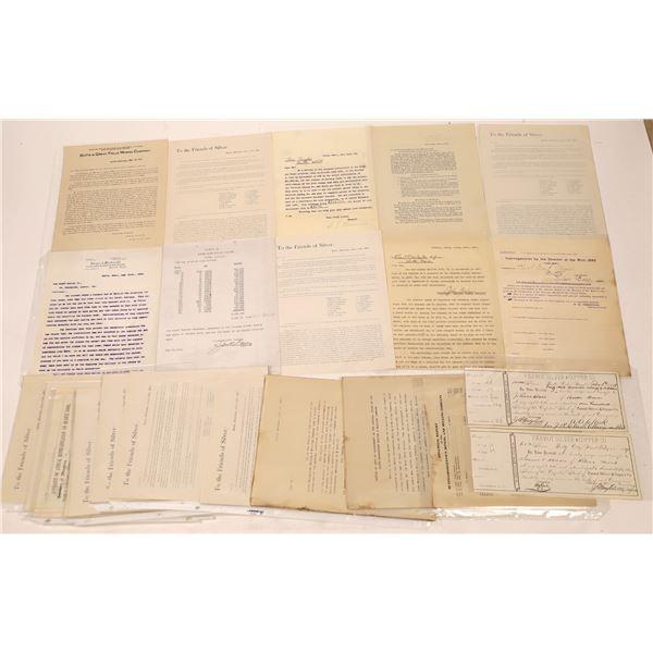 Butte Mining Documents & Announcements (20)  [128201]