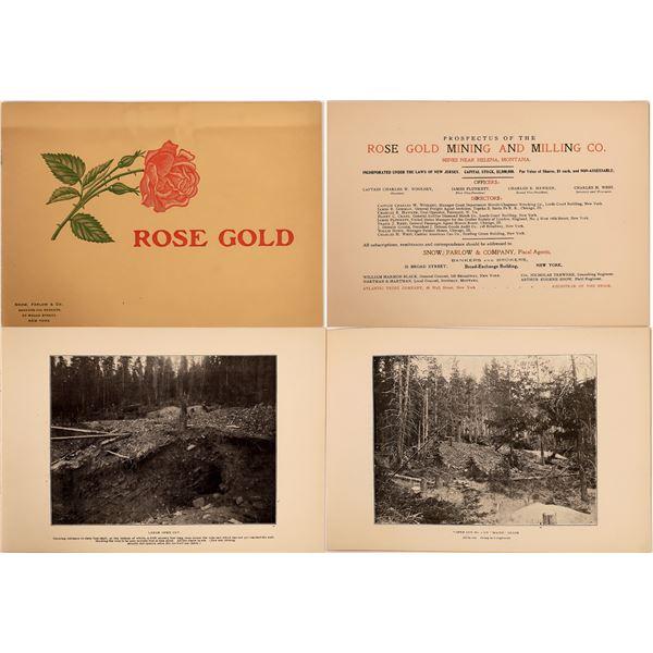 Prospectus Booklet for Rose Gold Mine  [140514]