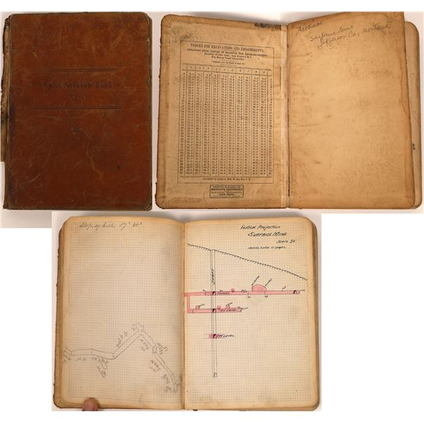 Cross Section Book for Surprise Mine, Jefferson County, MT (1)  [140775]