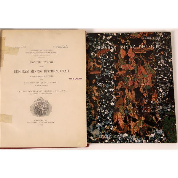 Bingham Mining District Publications (2)  [139423]
