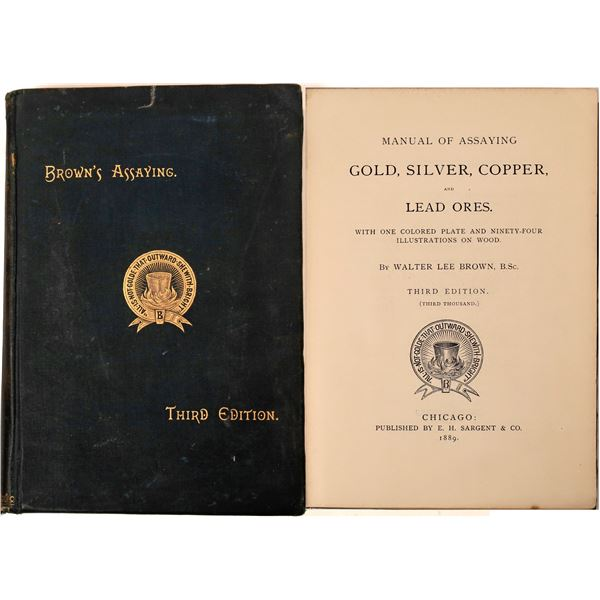 Brown's Assaying, Third Edition  [139120]