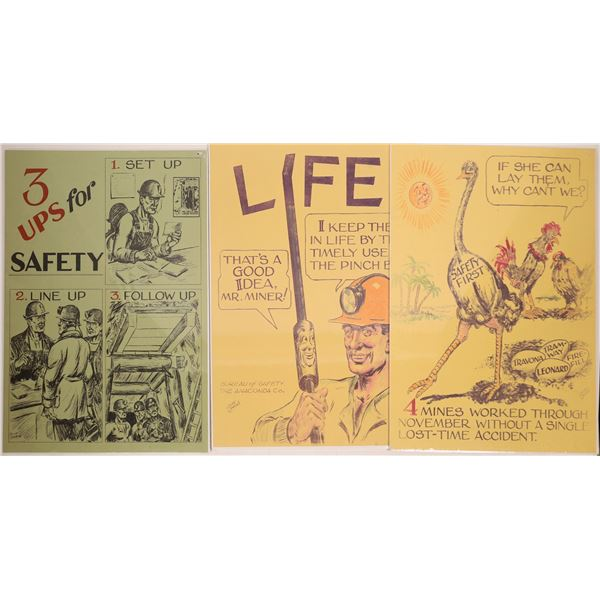 Mining Safety Posters   [139697]
