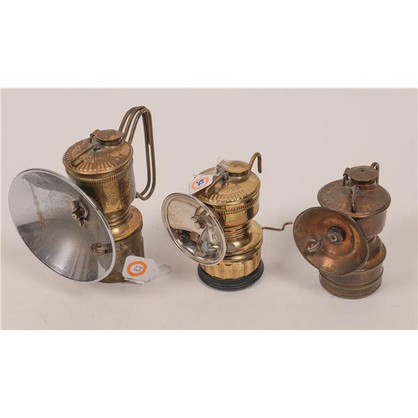 Carbide Lamps, Guy's Dropper Trio - 3  [140411]