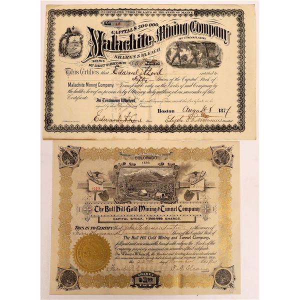 Colorado Mining Stocks Includes Malachite Mining Co. (2)  [128101]