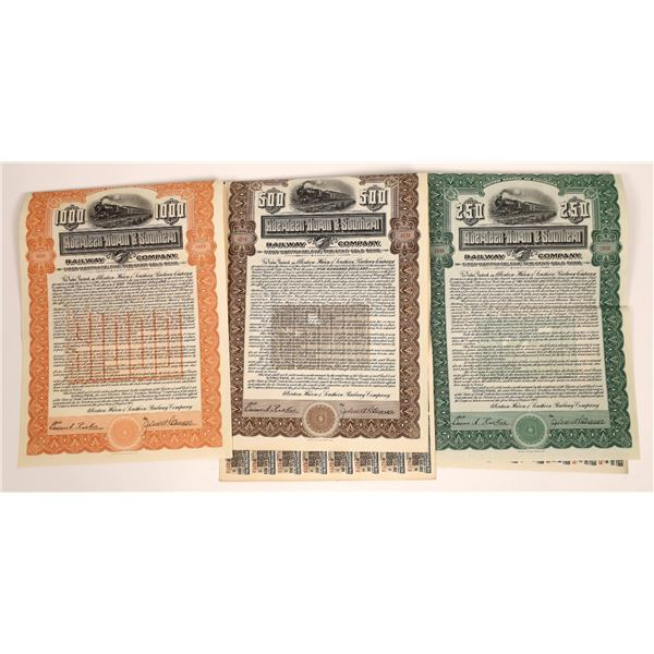 Three Bonds Aberdeen-Huron & Southern Railway Company  [138036]