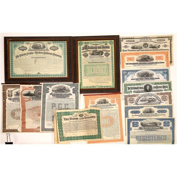 Railroad Bonds (14)  [139277]
