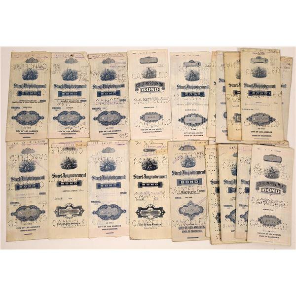 #1 Certificates of Los Angeles Street Improvement Bonds  [138517]