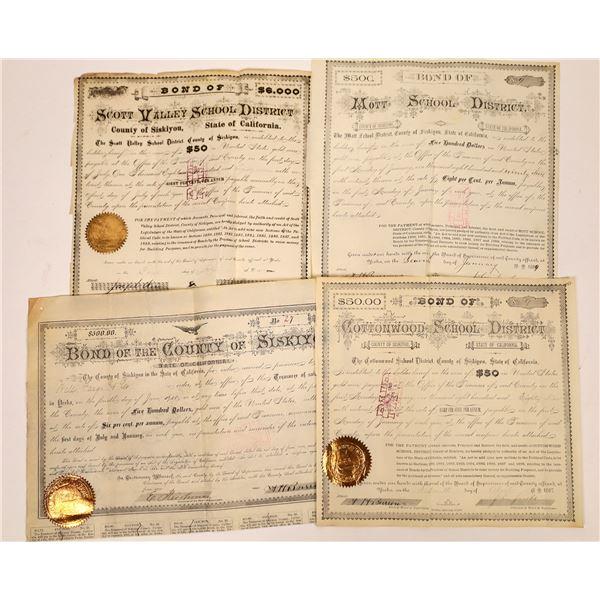 Siskiyou County Bond Certificates  [138522]