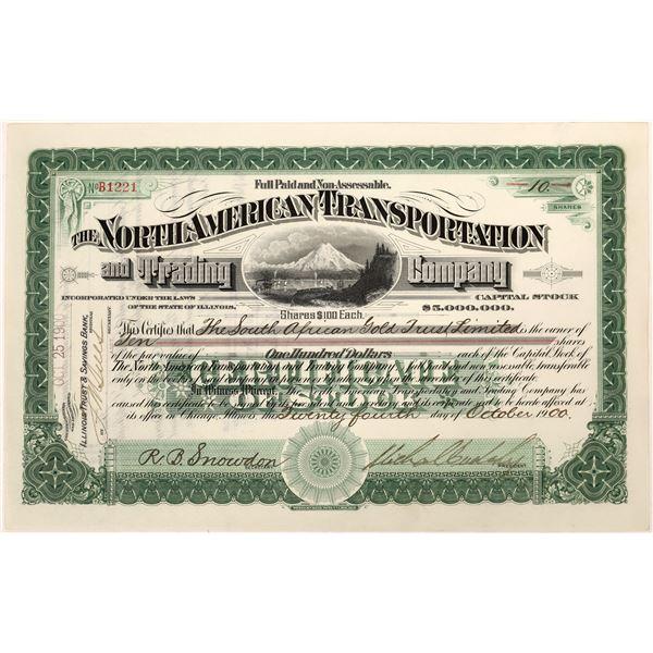 North American Transportation Stock Certificate  [128111]