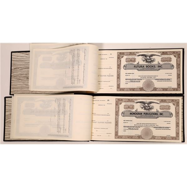 Publishing Companies Stock Booklets (2)  [139668]