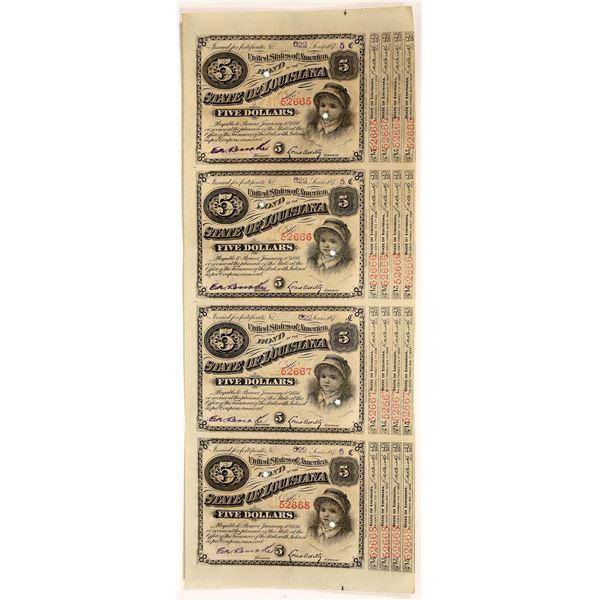 State of Louisiana Bond Certificates  [138507]