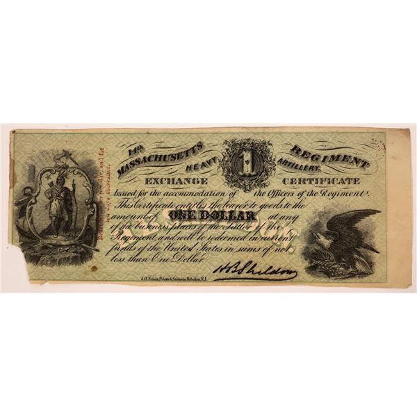 Civil War Sutler's Scrip  [139150]