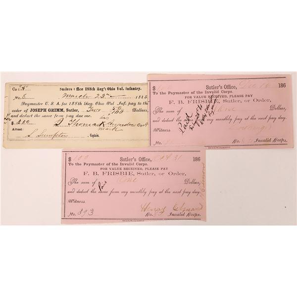 Sutler Paper (3)  [139151]