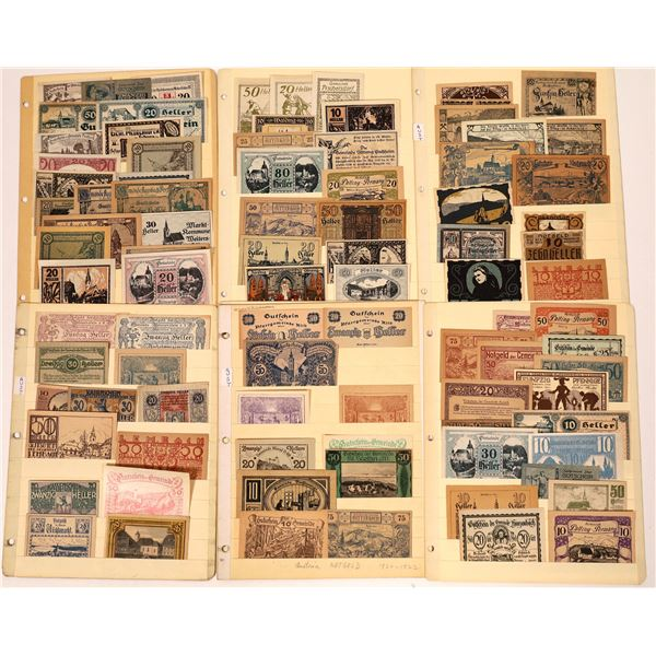 Notgeld Collection  [137989]