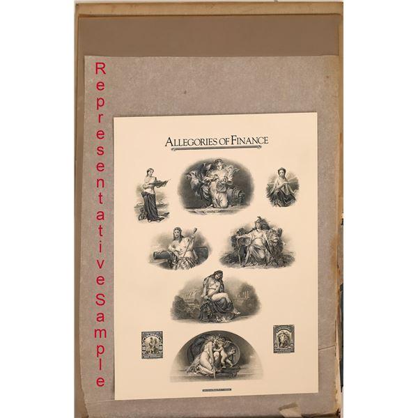American Bank Note Company Commemorative Archive Series (45 Prints)  [140723]