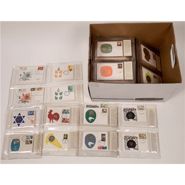 Foreign Coin Covers/First Day Covers (150)  [139236]