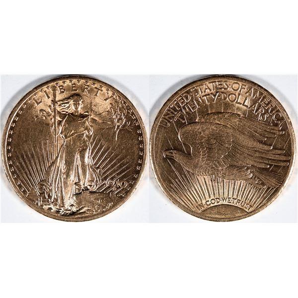 Saint Gaudens $20 U.S. Gold Piece  [136187]