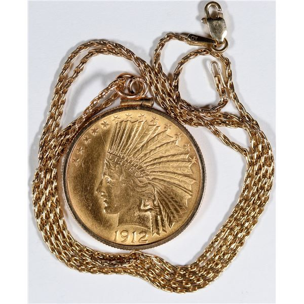 Indian Head $10 Gold Piece Jewelry  [136183]