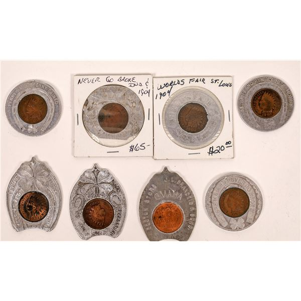Indian Head Encased Cent Collection  [141011]