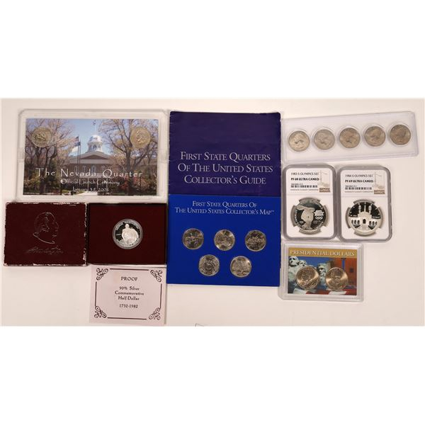 Uncirculated Dollars and Quarters  [136238]