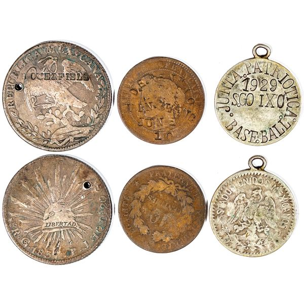 Counterstamped Foreign Coins  [141007]