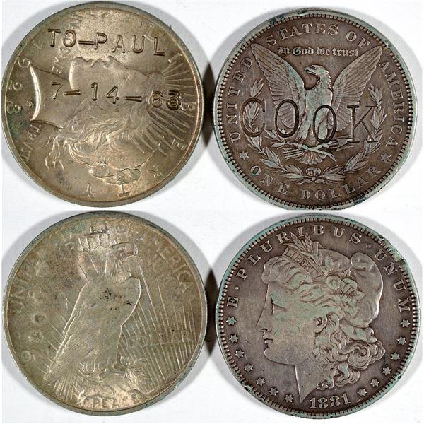 Counterstamped U.S. Dollars  [141027]