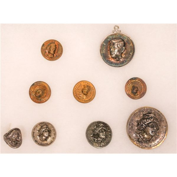 Pop-Out Repousse Coin Collection  [136197]