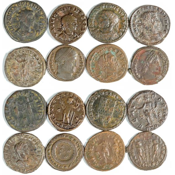 Roman Bronze Coins  [139008]
