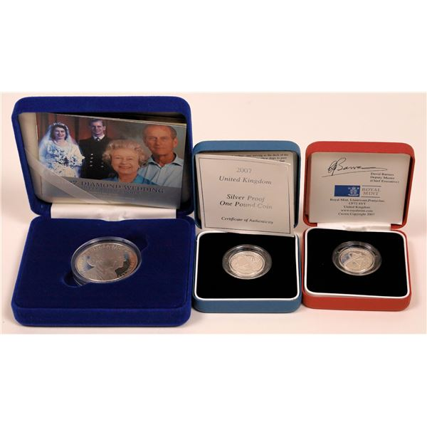 2007 Silver Proof Coins from the United Kingdom  [141008]