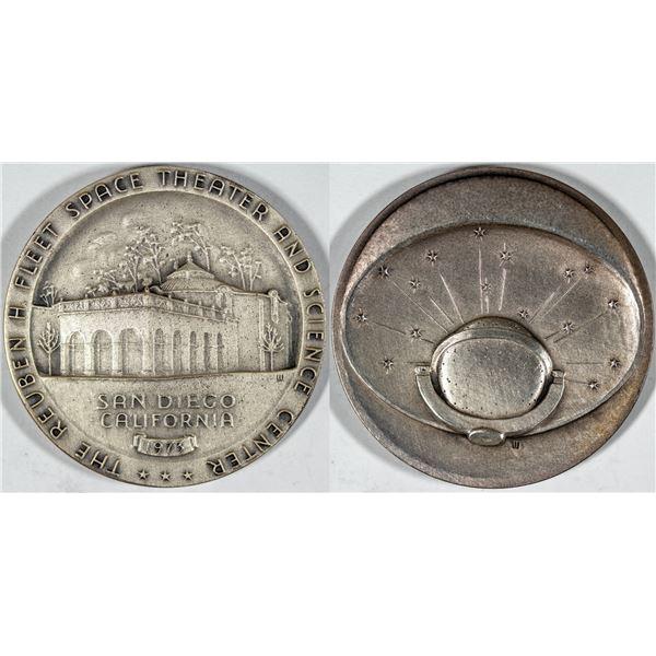 Reuben H. Fleet Space Theater Silver Medal  [140687]