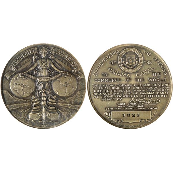 Panama Canal Opening So Called Dollar HK-398  [140670]