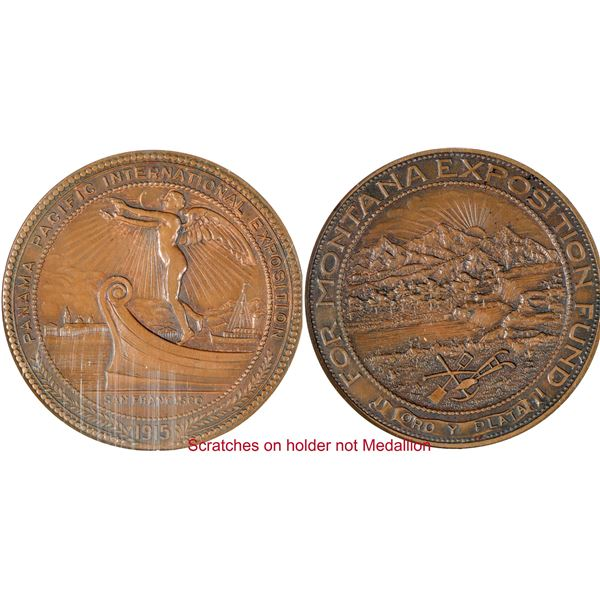 Montana at Pan-Pacific Exposition So Called Dollar HK-409  [140676]