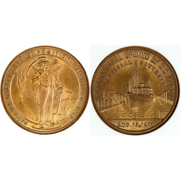 Panama-Pacific Exposition So Called Dollar HK-428  [140682]