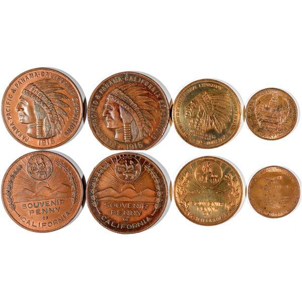 Panama Pacific Exposition Souvenir Pennies  [141024]