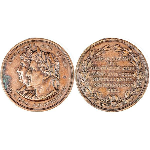 Olympic Club Roman Revival Medal  [141017]
