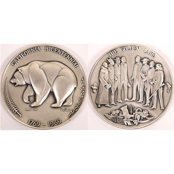 California Bicentennial Silver Medal   [140159]