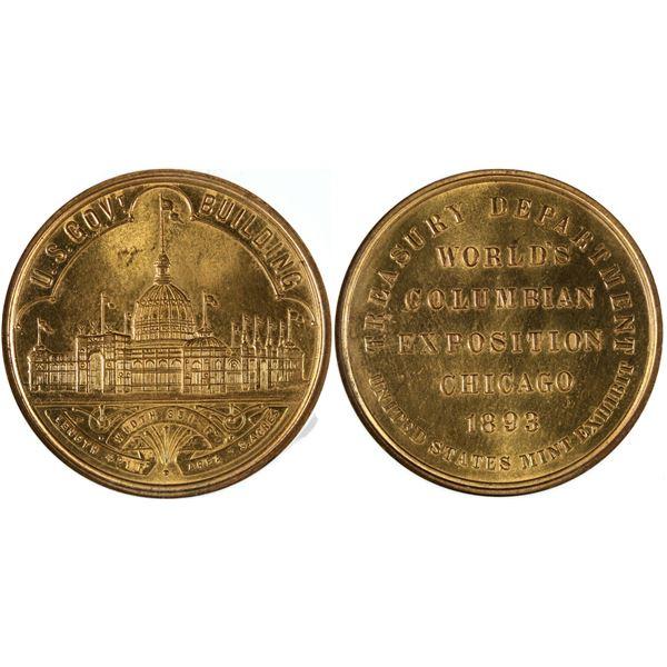 World's Columbian Expo So Called Dollar HK-154  [140666]