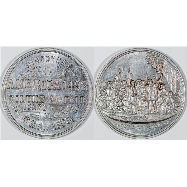 Columbian Expo., Discovery of America So Called Dollar: HK-158  [136244]