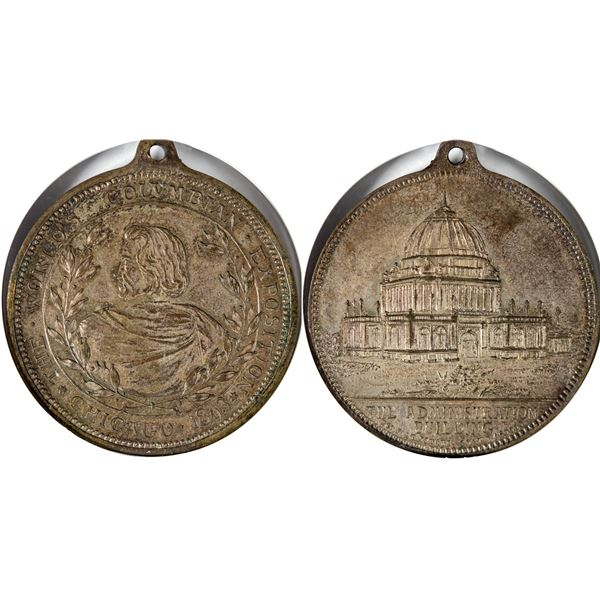 World's Columbian Expo HK-176 in Silver  [140679]