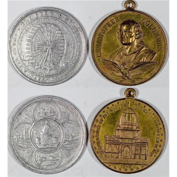 World's Columbian Exposition So-Called Dollars  [136259]